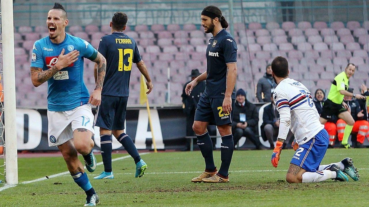 Serie A: probabili formazioni Sampdoria-Napoli 13 Maggio