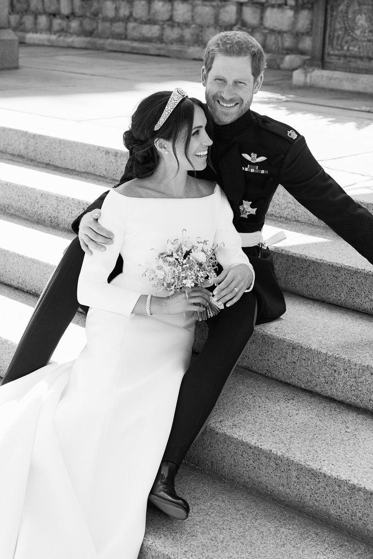 Harry Meghan royal wedding official photo